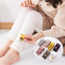 Tights Leggings Pantyhose Knitted Baby-Girls Kids Winter Children Casual for Autumn Warm