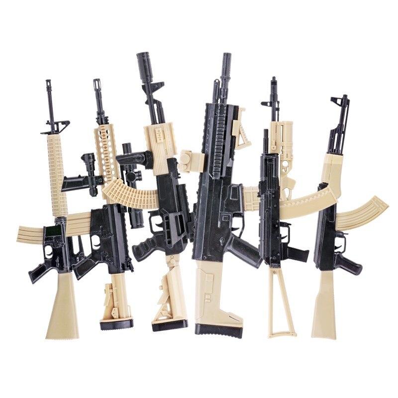 1:6 Assemble Gun Model For 12