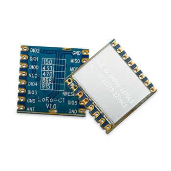 10pcs/lot lora1276-C1 FCC certified 915MHz 20dBm sx1276 chip long range 4Km RF Wireless LoRa Module - DISCOUNT ITEM  22 OFF Cellphones & Telecommunications
