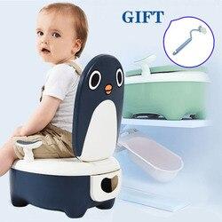 Портативный Детский горшок, Детский горшок, обучающее сиденье, Мультяшные удобные горшки, Детский горшок для обучения, детский туалет
