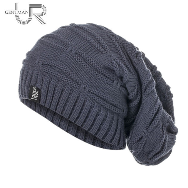 Knitted Fashion Oversized Beanie 2