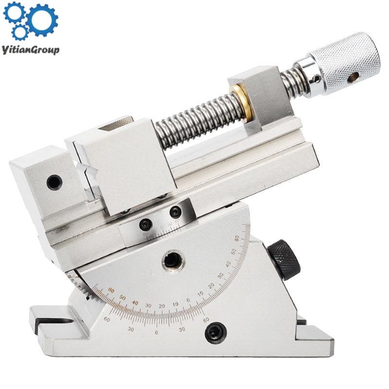 Grinding Machine Universal Wanli Precision Vise 2 Inch Slope Sine Adjustable Angle Vise Tool