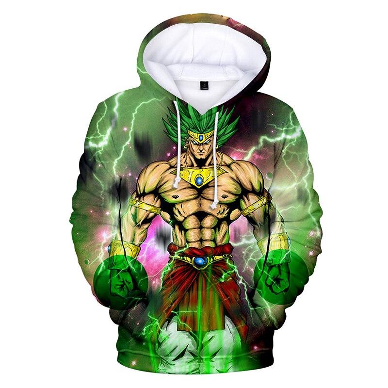 2020 Cartoon Anime buso Dragon Ball 3D Tie Dyeing Hoodie Plus Size Printing Men Hoodies Sweatshirts Poleras Con Capucha Hombre