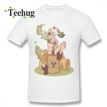 Organnic Cotton Male Tank Girl Smells Like Toxic Waste Homme Tee Shirt Casual Unique Design Round Collar For Boy t shirt