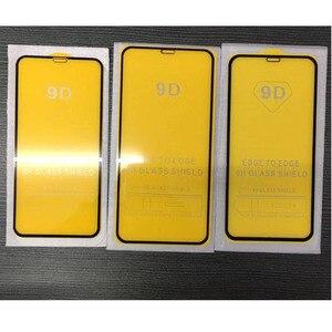 Image 2 - 10 Stuks \ Veel 9D Volledige Lijm Gebogen Gehard Glas Beschermende Voor Iphone 6 6S 7 8 Plus X xr Xs 11 12 Pro Max Mini Screen Protector