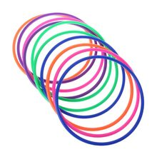 10 шт., пластиковые кольца для бросок, мишени, карнавал, задний двор, парк, игры, дети, развитие интеллекта, развивающая игрушка для упражнений