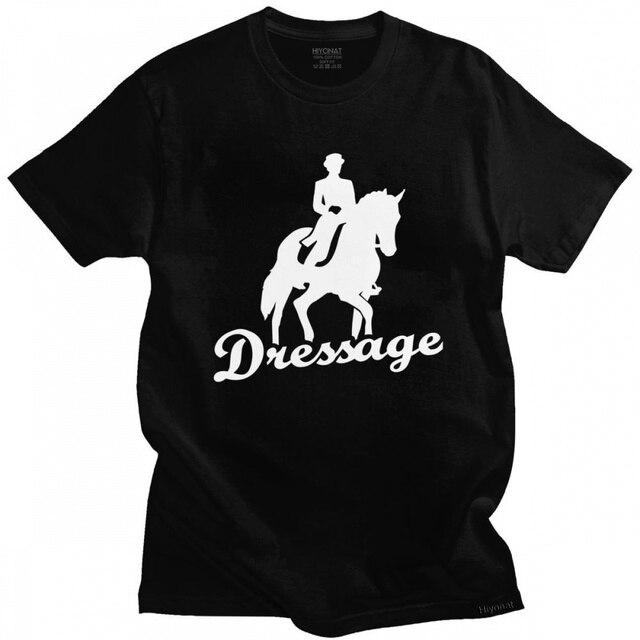 Dressage T-Shirt We Love Our Horses 1