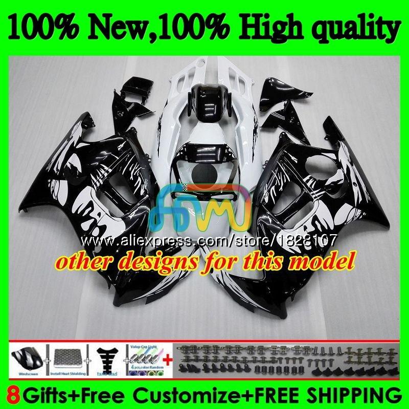 + Kits de tanque Para HONDA CBR600FS CBR600F3 1995 1996 97 98 3BS. 299 CBR600 F3 CBR 600 FS 600F3 Hot Cinza 95 96 1997 1998 Carenagem preta - 3