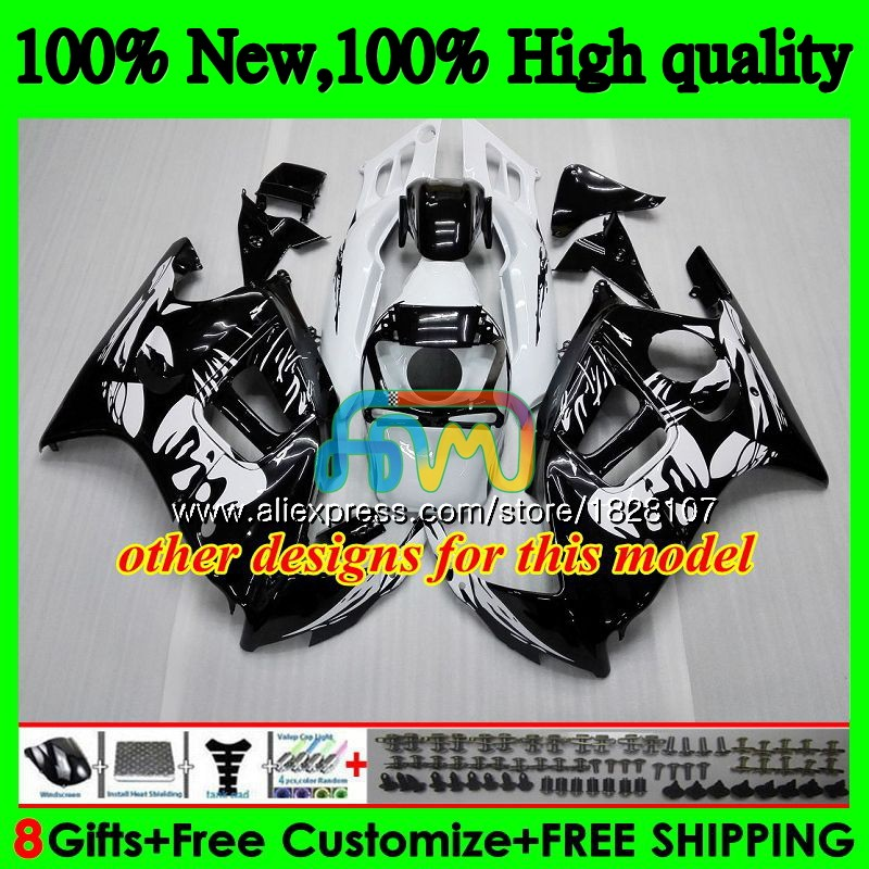 CBR carenagens + Tanque Para HONDA CBR 600CC 600F3 600 FS Hot Cinza branco 95 96 1995 1996 3BS. 20 CBR600 F3 CBR600F3 97 98 1997 1998 Kit - 3