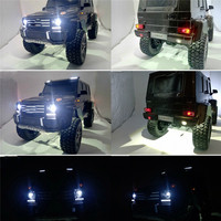 LED Light Lamp Light Group for 1/10 Traxxas TRX4 G500 4x4² RC Car Parts Accessories Cold White Freezing White Headlight