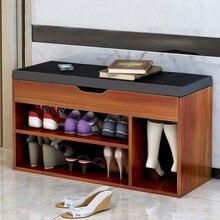 Furniture shoes stool simple modern storage stool multifunctional sofa stool shoes cabinet Nordic Vestibule hallway household