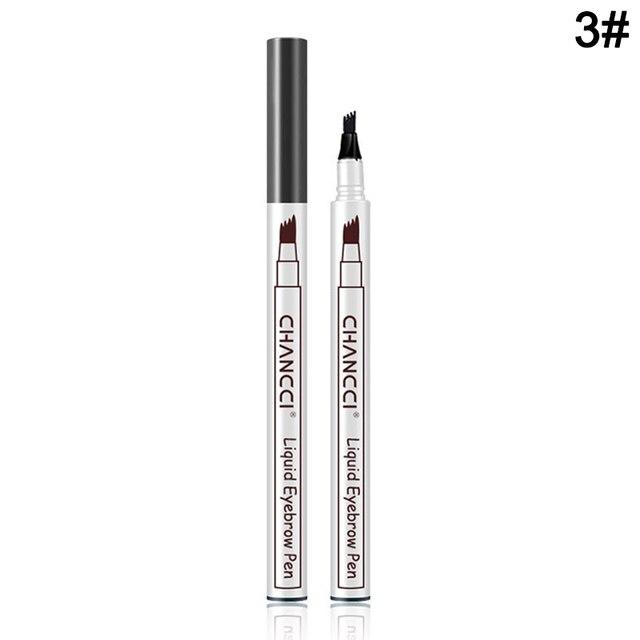 Microblading Tattoo Eyebrow Pencil Long Lasting Waterproof Fork Tip Makeup Ink Sketch Eye Brow Pen MH88 5