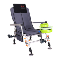 Nova cadeira de pesca multi-função dobrável cadeira de pesca portátil suprimentos de pesca