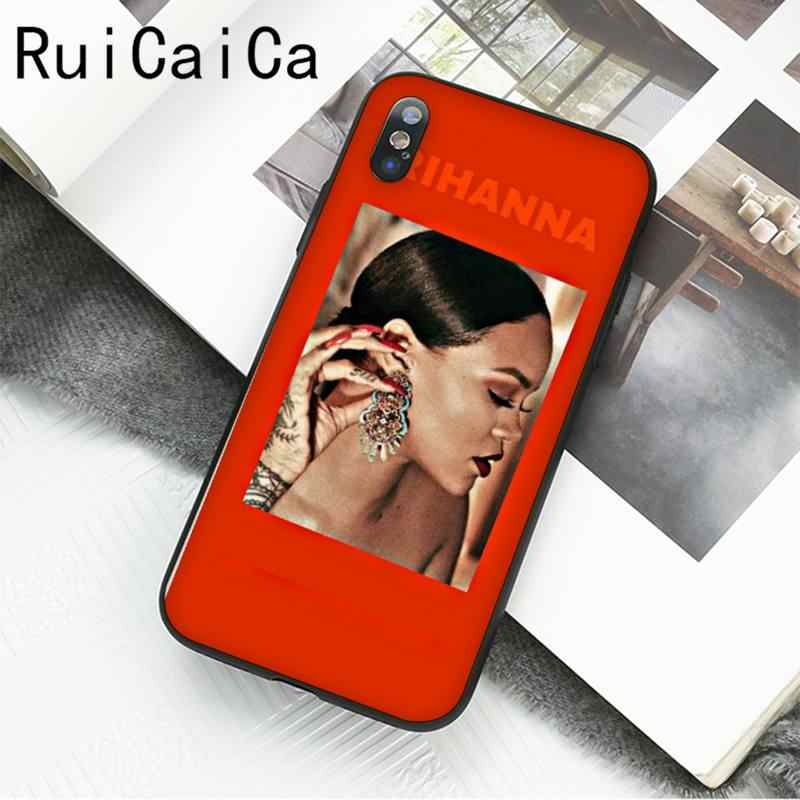 Ruicaica Rihanna Cute Wallpaper Pictures Phone Case For Iphone 12 8 7 6 6s Plus X Xs Max 5 5s Se Xr 11 11 12 Pro Promax Phone Case Covers Aliexpress