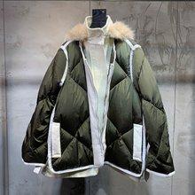 Новая женская Высококачественная модная куртка с длинным рукавом и воротником-стойкой с капюшоном 0927