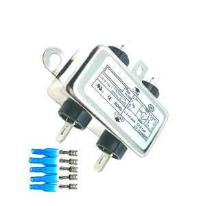 5PCS EMI Filter CW1B-10A-T 10A 115V 250V CW1B 50/60HZ