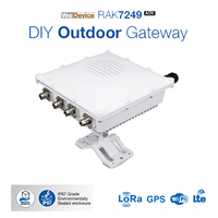 企業 diy 屋外ゲートウェイ lorawan ネットワークゲートウェイ組み込み openwrt の os lora gps wifi lte アンテナ IP67 防水 Q123