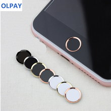 цена на Mobile Touch ID sticker for IPhone 5s 6 6s 7 8 Plus SE Home Button Sticker Support Fingerprint Phone Sticker for IPad 1 2 3