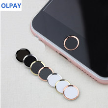 Mobile Touch ID sticker for IPhone 5s 6 6s 7 8 Plus SE Home Button Sticker Support Fingerprint Phone Sticker for IPad 1 2 3(China)