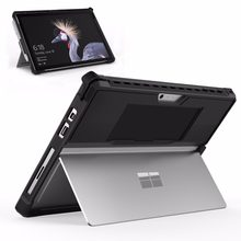 MoKo Case for Microsoft Surface Pro 7 /Pro 6/Pro 5/Pro 2017/Pro 4 /Pro LTE ,All-in-One Protective Rugged Cover Case w/Pen Holder