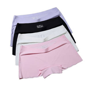 Lady Boxer Panties Shorts Lingerie Under-Skirt Seamless Female Women Safety Summer Healthy