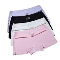 Seamless Short Pants Women Safety Panties Female Boyshorts Female Summer Under Skirt Shorts Lady Boxer Panties Healthy Lingerie