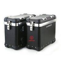 Sunway Motorcycle Aluminum Luggage Box Cargo box 32L for Yamaha Suzuki Honda Cfmoto