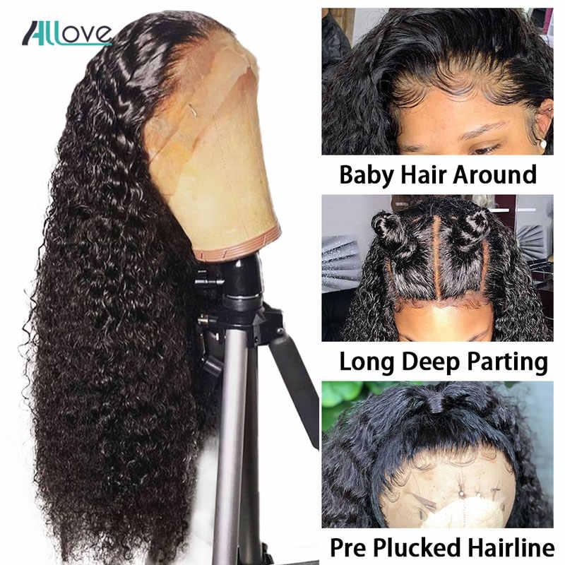"""Allove brazylijski Water pasma falowanych włosów 4 sztuk wysłać jeden wolny zamknięcie 8 """"-28"""" Remy ludzki włos włosy wyplata wiązki włosy w naturalnym kolorze wątek"""