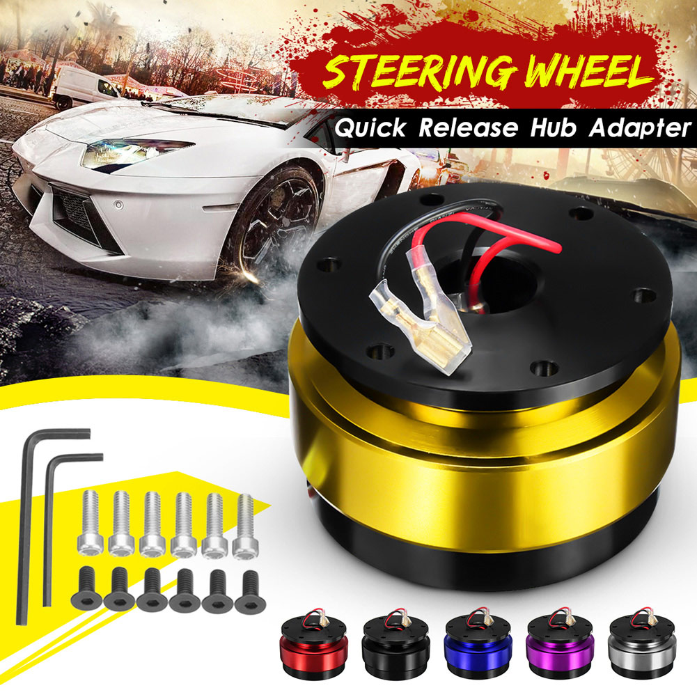 Steering Wheel Quick Release Ball Lock Hub Adapter Snap Off Kit Universal for Car Auto TD326|Steering Wheels & Horns|Automobiles & Motorcycles - title=