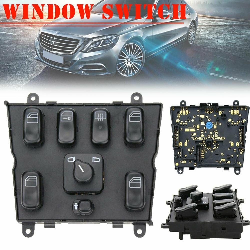 Электрический переключатель стеклоподъемника для Mercedes Benz ML320 W163 ML400 ML430 ML500 1998-2003 OEM:1638206610 A1638206610