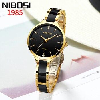 NIBOSI Luxury Brands Women watch