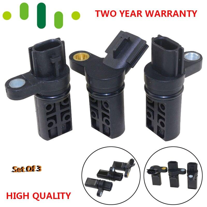 UN Set di 3 Motore Albero Motore Sensore di Posizione Dell'albero A Camme Kit per NISSAN INFINITI 23731AL60A 237316J90B 23731AL60C 23731AL61A