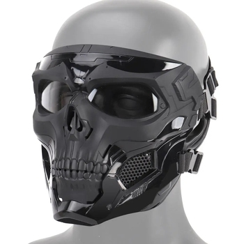 Wosport Skull Tactical Airsoft Mask Paintball CS Military Protective Full Face For Fast Helmet #d