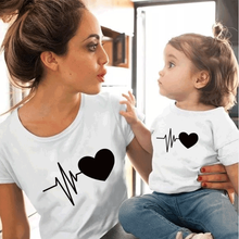 summer family matching clothes mommy and me tshirt mother daughter son outfits women mom t-shirt baby girl boys t shirt basketball dad mom baby girl boy family matching outfits cotton t shirt father mother son daughter print letter mommy and me kid