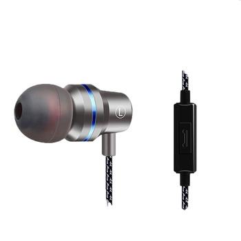 Auriculares QKZ DM1 en la oreja con micrófono 3 colores auriculares para juegos diseño deportivo Simple y a la moda F814