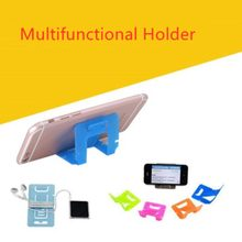 5pcs Universal Folding Table Cell Phone Support Phone Holder Desktop Stand for Your Phone Smartphone & Tablet(China)