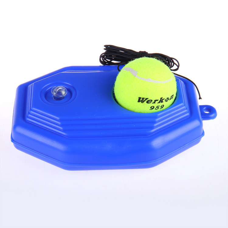 Manufacturers Direct Selling High Grade Single Person Tennis Base Training Only Tennis Single Person Base Tennis Trainer Base