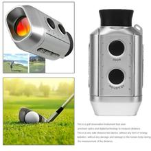 7X18Digital Optic Telescope Laser Range Finder Golf Scope Yards Measure Outdoor Distance Roulette Meter monocular Rangefinder