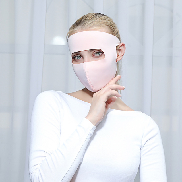 Cute Heart Print Unti-dust Mask Mouth Mask Kpop Cartoon Summer Masks Anti-UV Stereo Unisex 4
