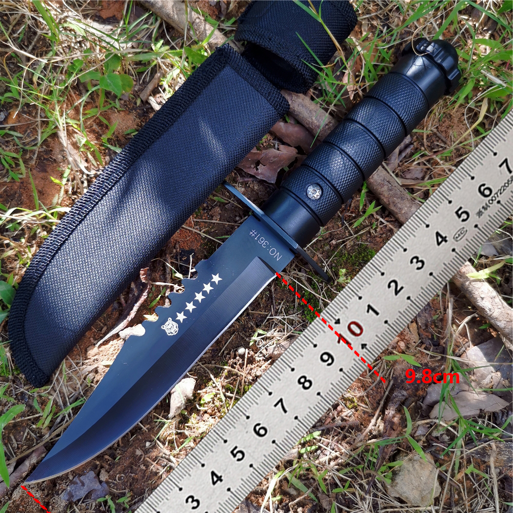 Knife EDC Tool High Quality 8CR13MOV Rescue Knife Wild Tactical Knives Good for Hunting Camping Survival