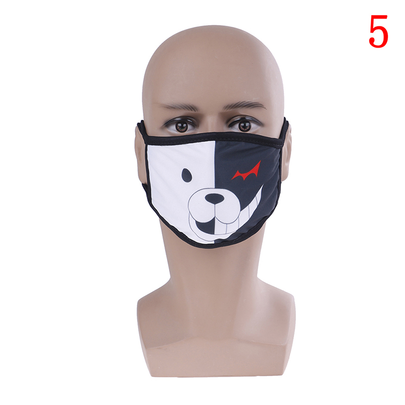 Unisex Antidust Mask Muffle Mask Cute Bear Mouth Mask