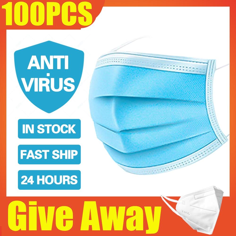 5-10pcs Mascherina Ffp3 Mascherine Antivirus Ffp3 Respirator Respirator Ffp3 Mascherina Antivirus Protective Mask