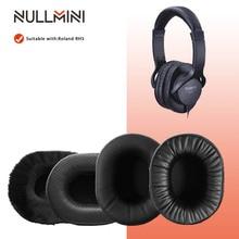 NullMini החלפת Earpads עבור רולנד RH5 אוזניות זיכרון קצף לעבות עור שרוול אוזניות Earmuff