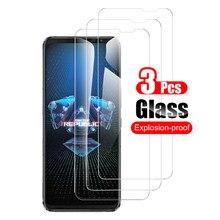 3 pçs vidro temperado para asus rog telefone 5 rog5 pro protetor de tela de vidro para asus rog telefone 5 final 6.78