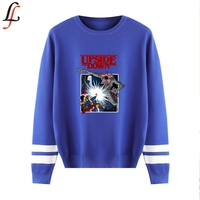 DEMOGORGON DAYS A Autumn/Winter O neck Sweater Print Long sleeved Korean Casual Fashion Sweater K pop Hot Sale Pullover