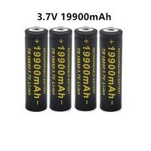 100% neue 3,7 V 18650 19900mAh hohe kapazität batterien Li-Ion lithium-batterie für taschenlampe batterie
