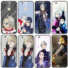 Anti Gores untuk Huawei Honor 6X 8 8A 9 10 P20 P30 Mate 20 Y6 Y9 Lite Pro 2019 kartun Yuri On Ice Victor Nikiforov(China)