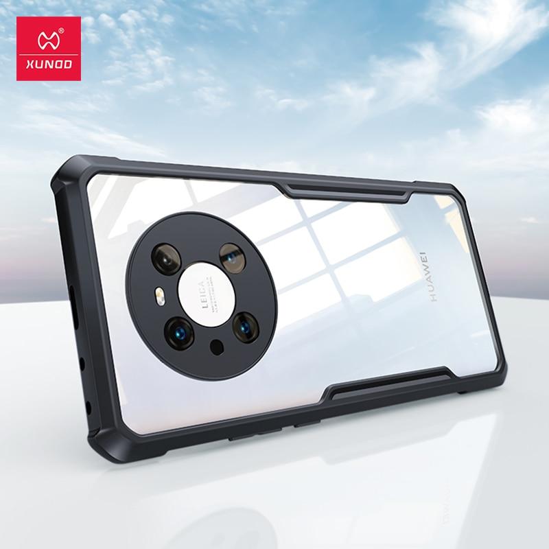 для Huawei Mate 40 Pro Чехол, чехол Xundd для Huawei Mate 20 30 30E 40E 40 Pro + Pro Plus RS Чехол, противоударный чехол-бампер для телефона