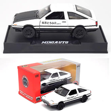 INITIAL D AE86 1:28 Toy Car Alloy Metal Toy Car Diecasts & Toy Vehicles Car Model Miniature Scale Model Car Toys For Child,Fans 1 150 scale model car toy metal alloy diecast car model miniature scale model for train layout scenery