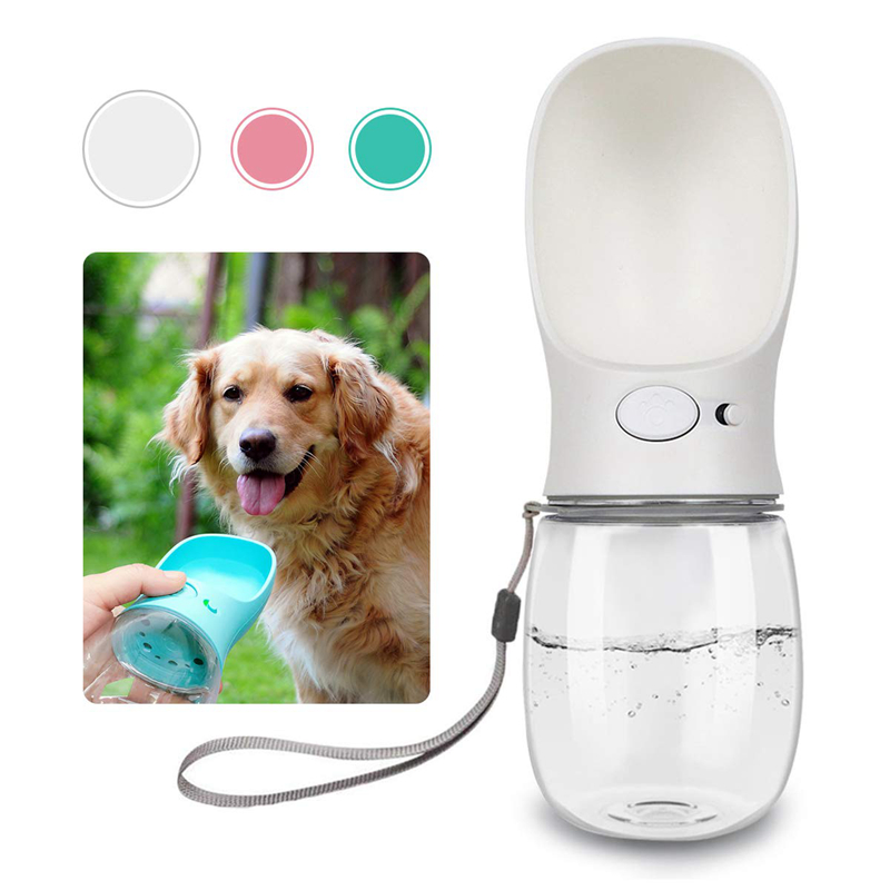 350ML/550ML Portable Pet Dog Water Bottle Travel Dog Bowl Cups Dogs Cats Feeder Water Outdoor For Puppy Cat Pets Products